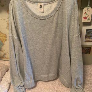 Free people sweatshirt